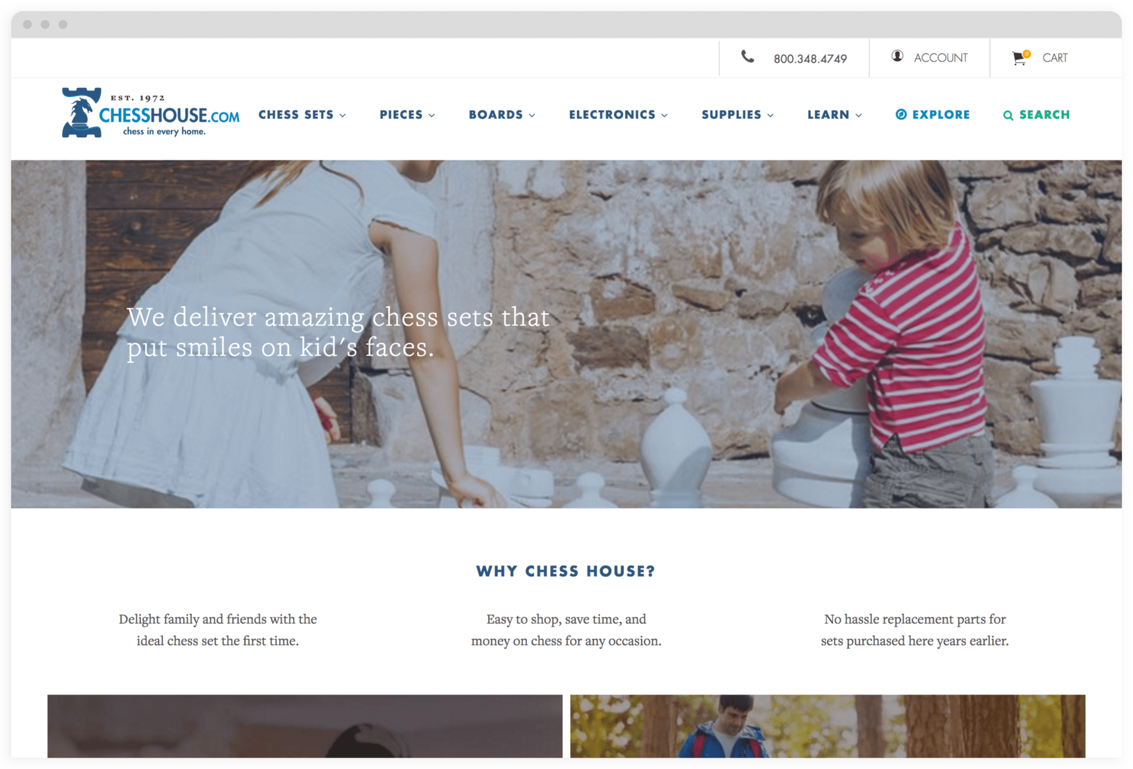 Chess House Homepage