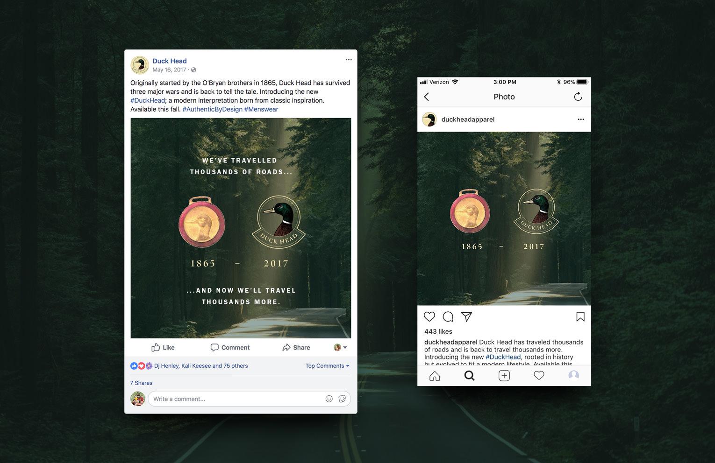 Duck Head Social Post