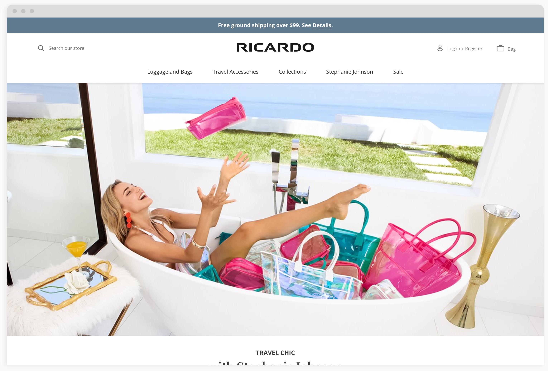 Ricardo Beverly Hills Homepage