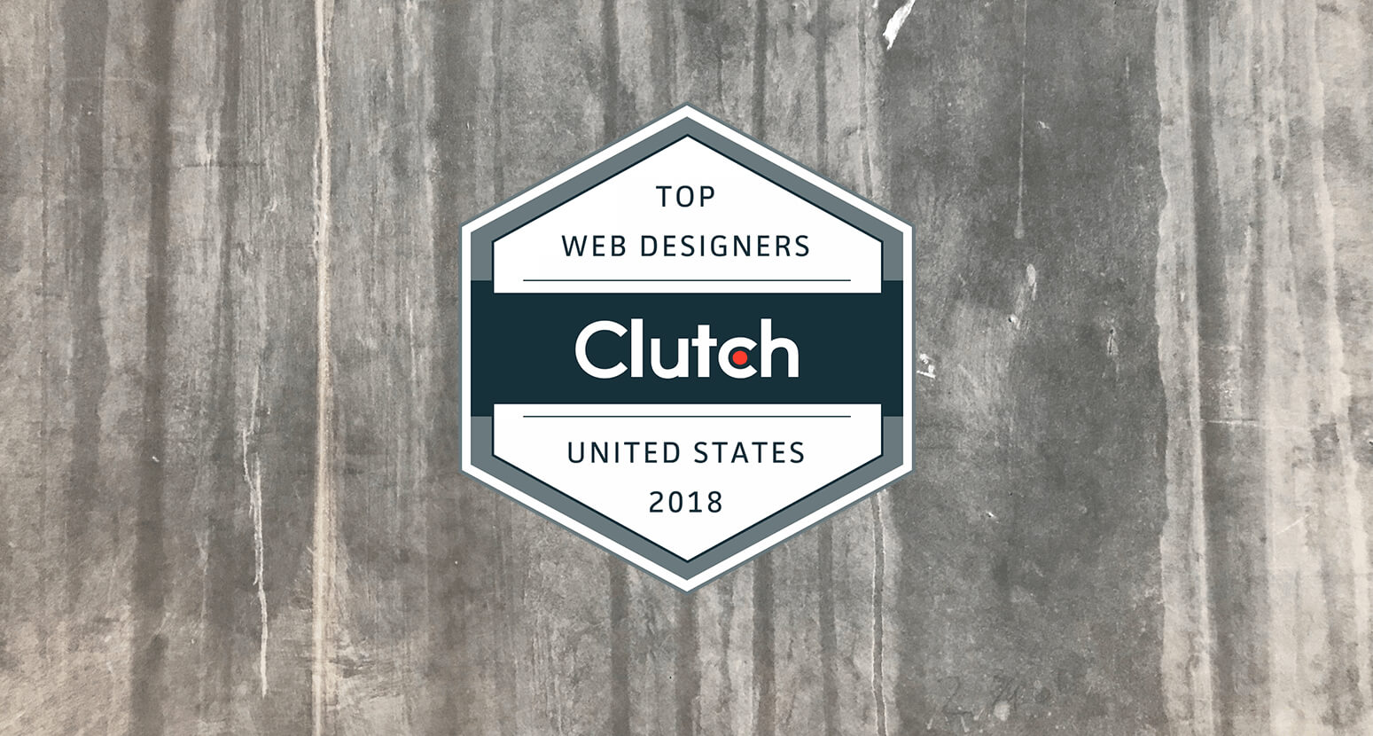 Gauge Name Top Web Designer in the United States by Clutch 2018