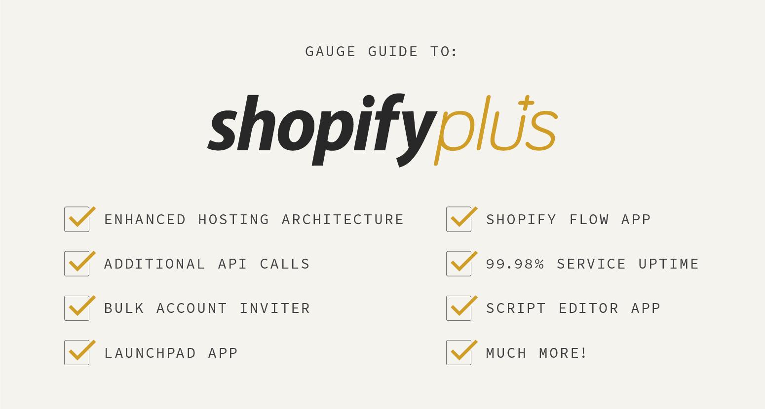 Shopify – Gauge – eCommerce Design & Development